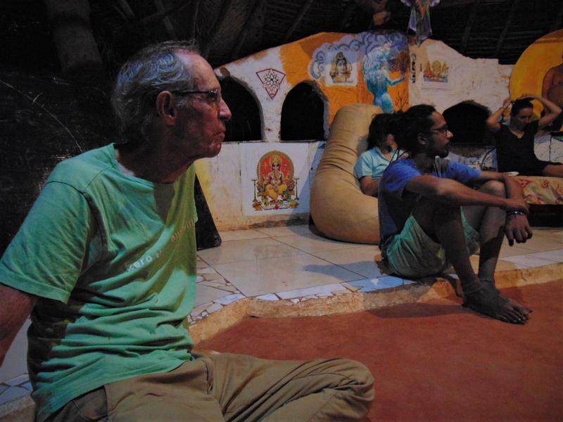 Photographer:Wobbli | B talks about Auroville History