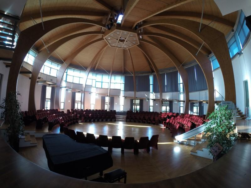 Photographer:Italian Community Archives | The Hall of Culture - taken with a wide-angle lens camera.