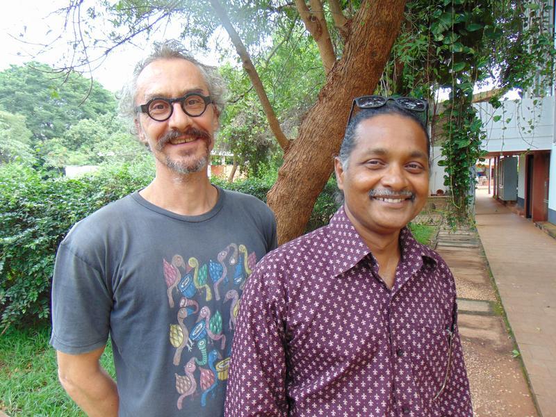 Photographer:Wobbli   Christoph and Aravindan