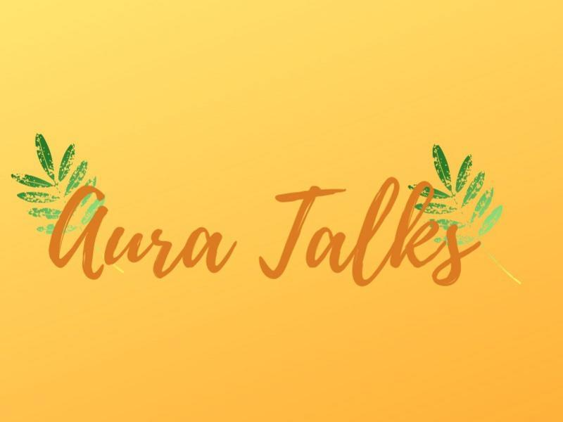 Photographer:Nd | Aura Talks logo